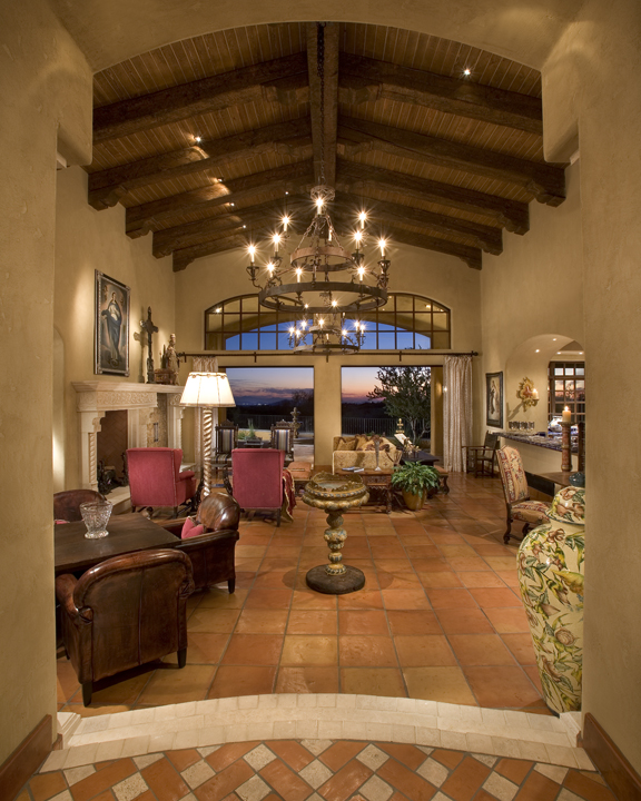Traditional Hacienda style home in Mirabel, Scottsdale AZ