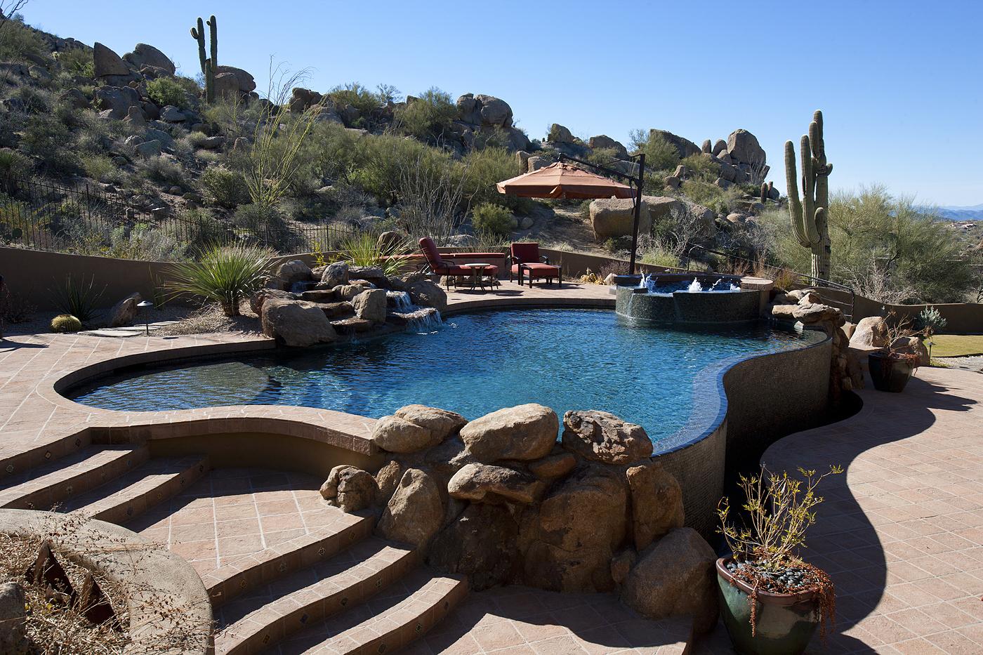 Organic Pueblo Masterpiece in Windy Walk Estates, Scottsdale Arizona